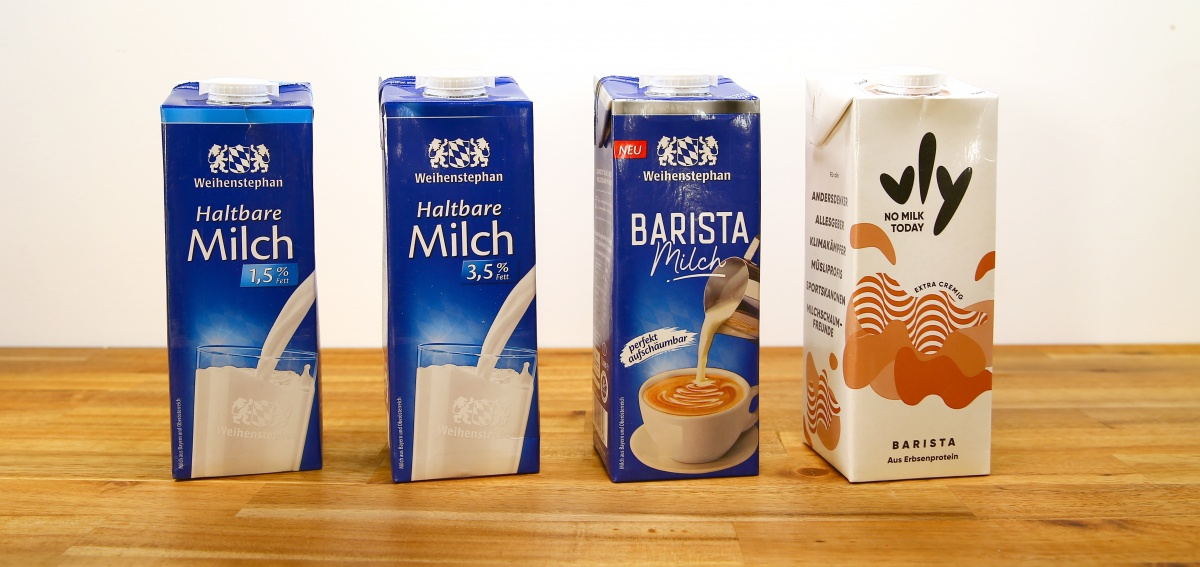 Is special barista milk worth foaming?